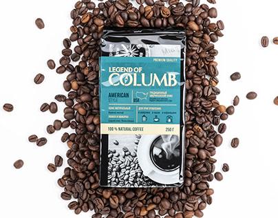 "Coffee ""Legend of Columb"""