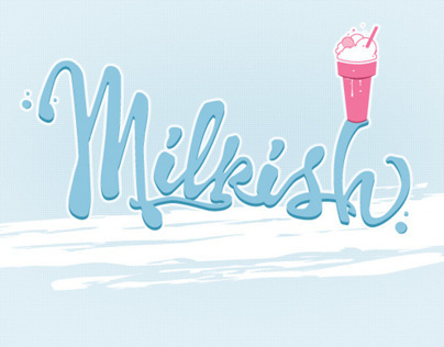 Milkish works' logo