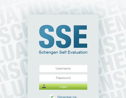 Schengen Self Evaluation website