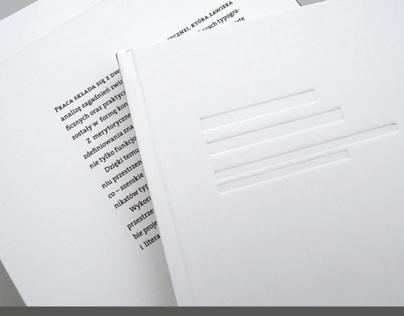 Przestrzeń w typografii | Space in typography
