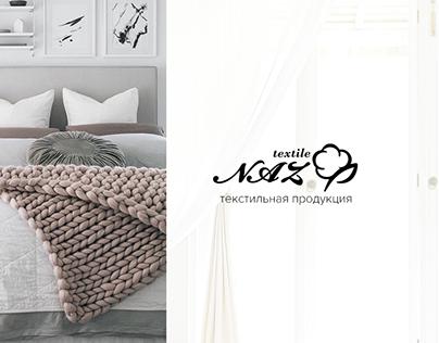 NAZTEXTILE - online store of textile products, UX/UI