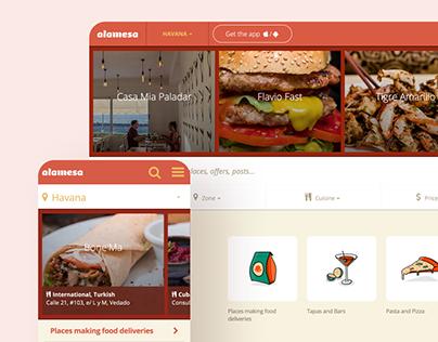 Product Design, UI/UX Alamesa's Bookings