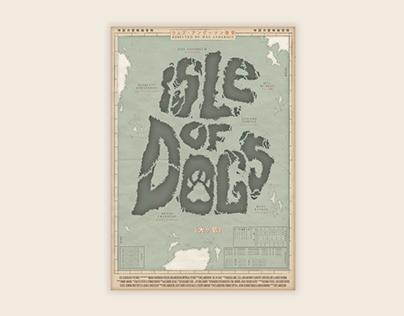 Isle Of Dogs - Afiche de pelicula