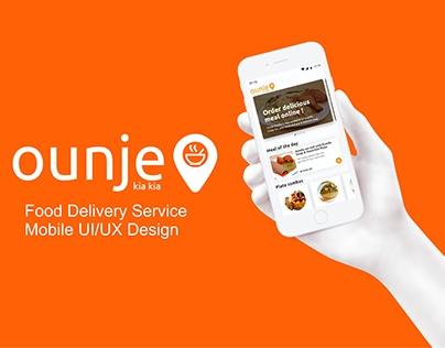 OUNJE Delivery Service UI/UX