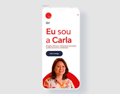 Website Mobile Carla Otsuki