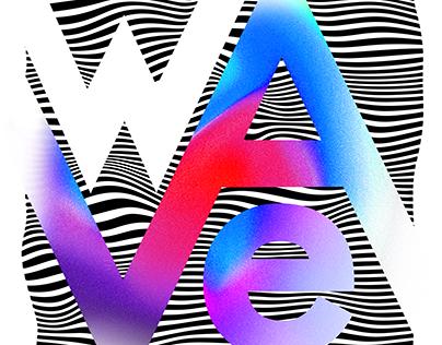 Album art work design   Wave