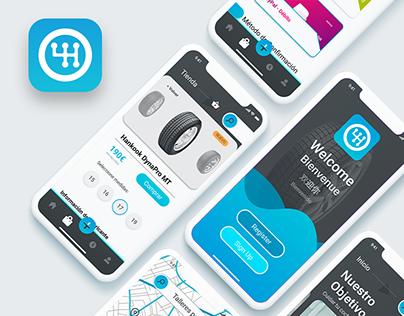 HEALTHYCARS APP | UI UX | Car App