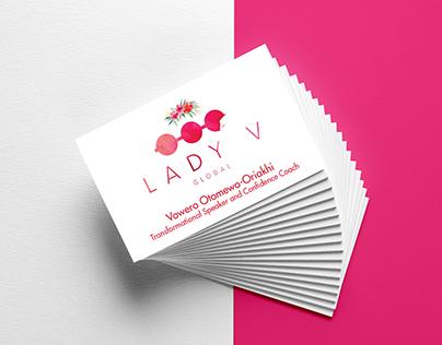 Business Card - Lady V Global