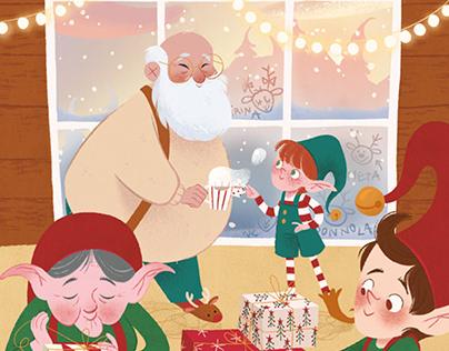 La storia di Babbo Natale - Interiors