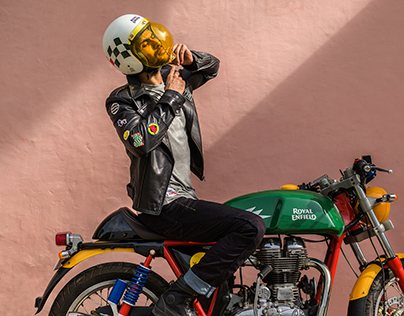 Royal Enfield x Happy Socks