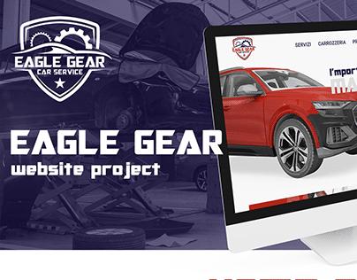 Eagle Gear Car Service - Website Project