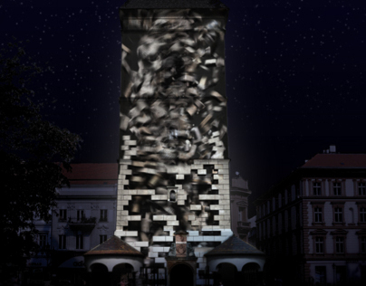 """""""Urban History"""" - 3D projection mapping on White Night"""