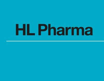 H L Pharma branding & packaging