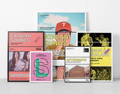 Institut Ramon Llull – Rebranding & Visual code Project