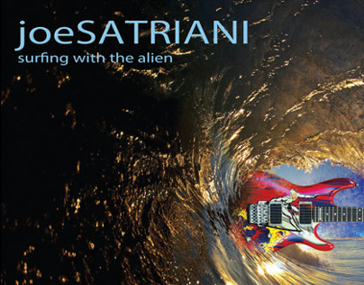 Satriani- CD cover/poster redesign COVER