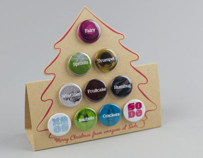 Soda Christmas Card 2011