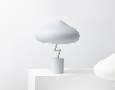 Lightning Lamp - Table Lamp