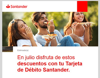 Proyectos Mailing HTML / Banners Banco Santander