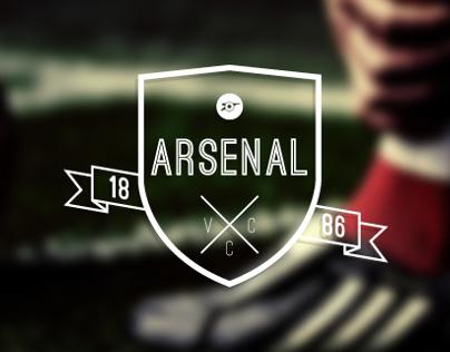Arsenal F.C Logo Design