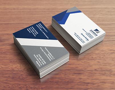 Zorko poslovno savjetovanje business card