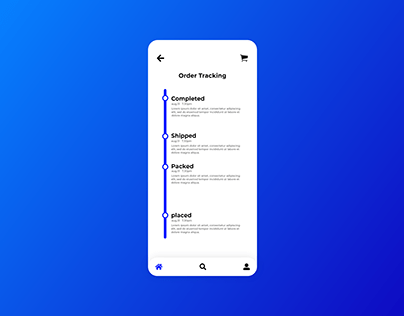 Itinerary UI design Daily UI day 78