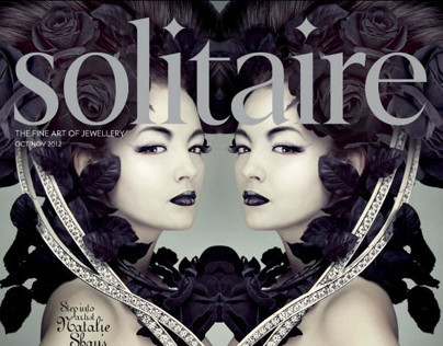 Solitaire magazine illustrations