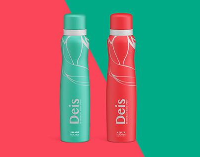 Deis (Body Spray) Packaging design