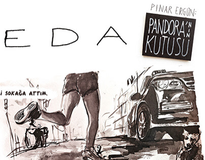 'İlk Veda' One Page Comic Strip
