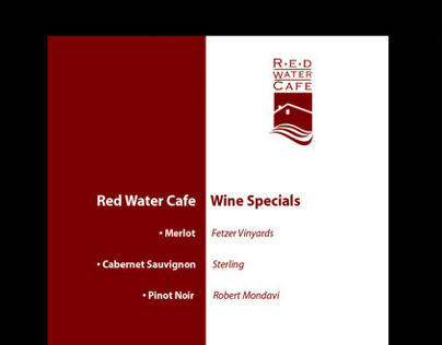 Red Water Cafe Display
