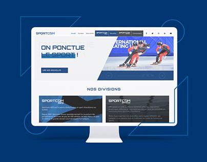 Sportcom | Refonte web