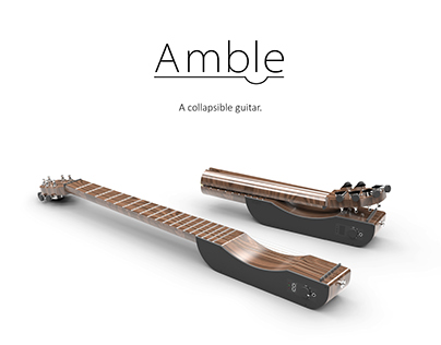 Amble - A Collapsible Guitar