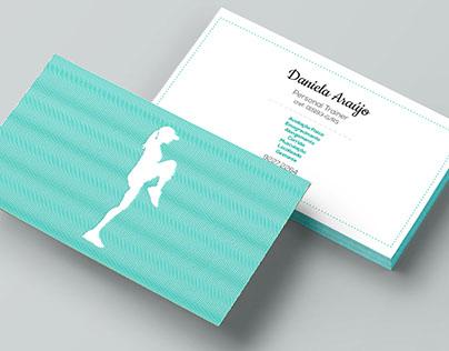 Branding Daniela Araújo personal trainer