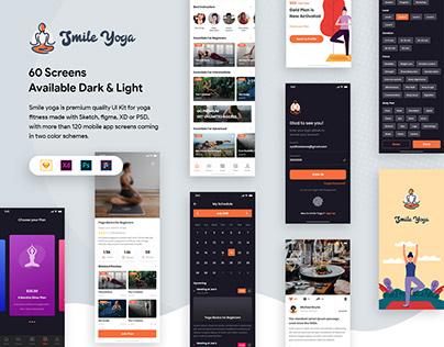 Smile 2.0 Yoga UI Kit