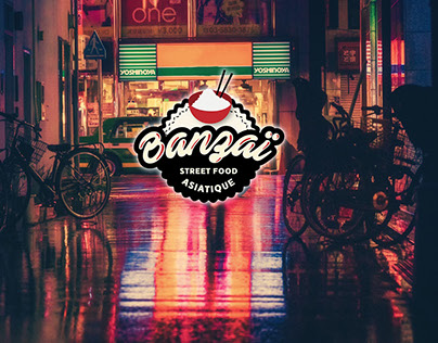 - Banzaï * Asian Street Food - Branding Identity