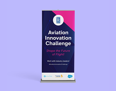 Rolls Royce - Aviation Innovation Challenge Banners