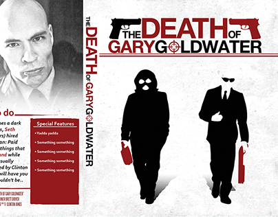 'The Death of Gary Goldwater' - Poster and Disk Jackets