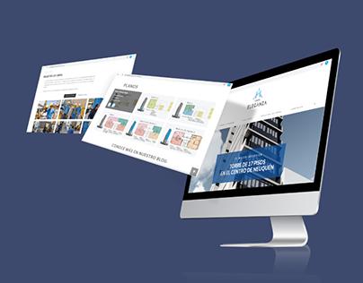 Branding y Diseño Web | Torre Eleganza