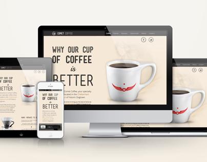 Comet Coffee Website