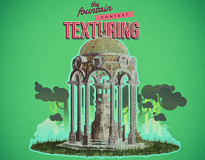 Fountain cartoon