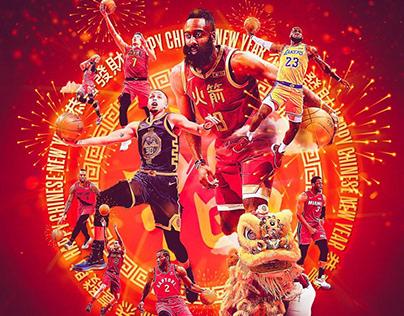 NBA Philippines Social Media Graphics / Content