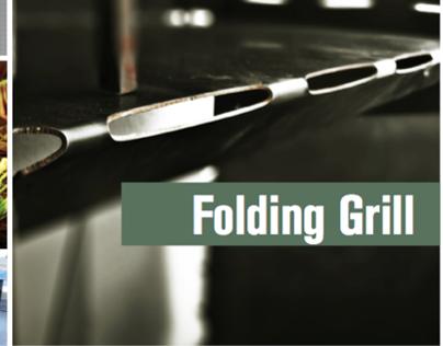 Folding Grill!