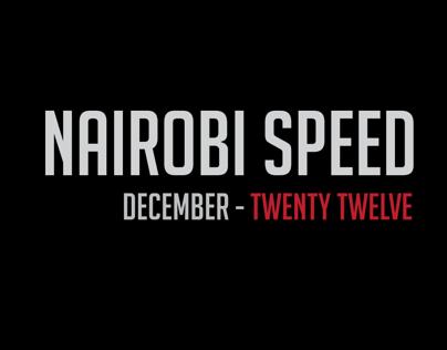 Nairobi SPEED 2012