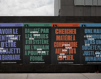 CNA Théâtre français – Saison 2019-2020