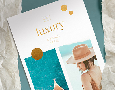 Luxury / Calendar Design 2021