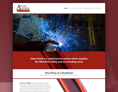 Atlas Steel & Supply | Custom Web Design