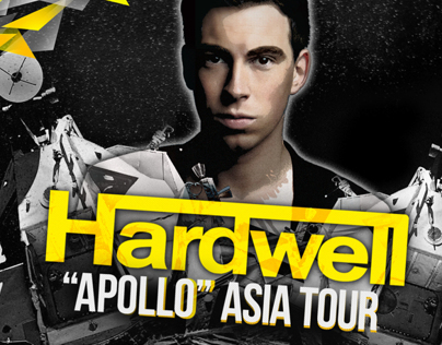Hardwell Apollo Asia Tour Design