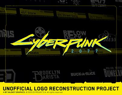 Cyberpunk 2077 Unofficial Logo Reconstruction Project