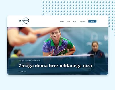NTK Arrigoni Izola website redesign