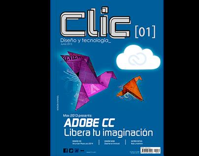 Diseño de Editorial Revista CLIC - Diseño y tecnología