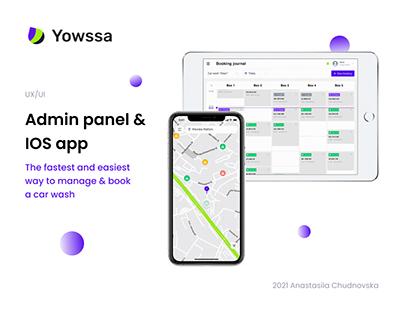 Yowssa   Mobile App & Admin Panel